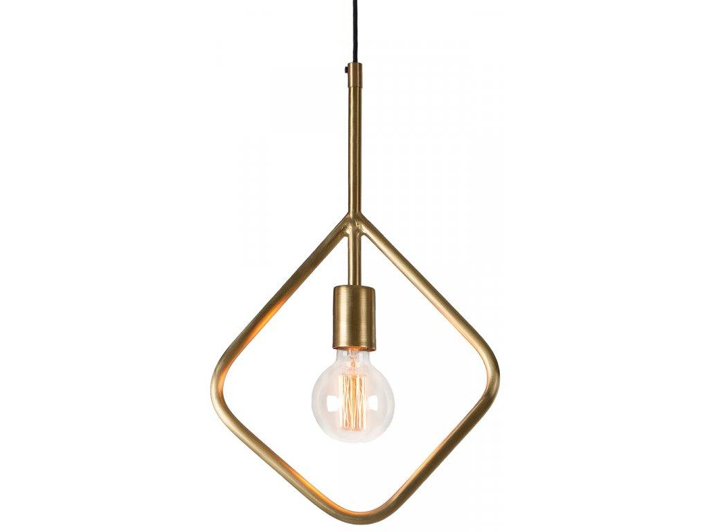 Mosazné závěsné světlo LaForma Addra 45 cm