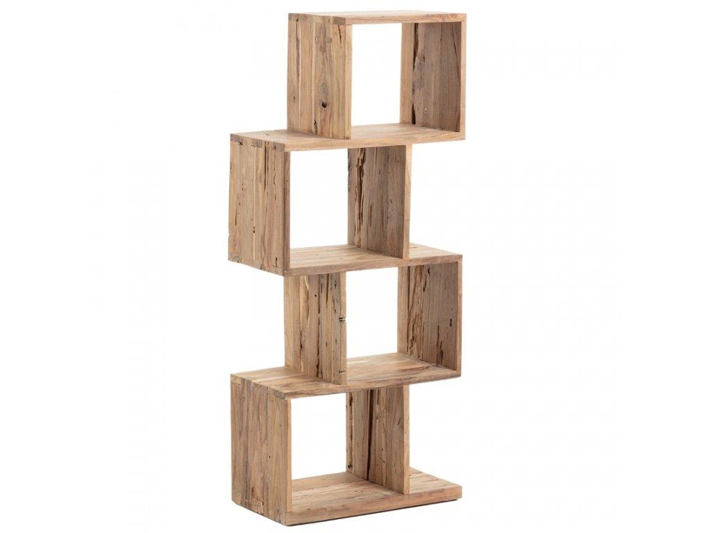 Knihovna LaForma Arundel 132 cm z teakového dřeva