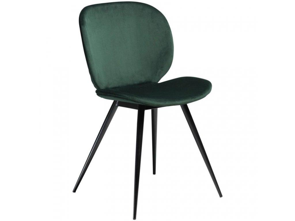Zelená jídelní židle DanForm Cloud