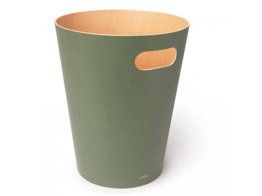 Zelený koš na odpadky Country 1000x1000