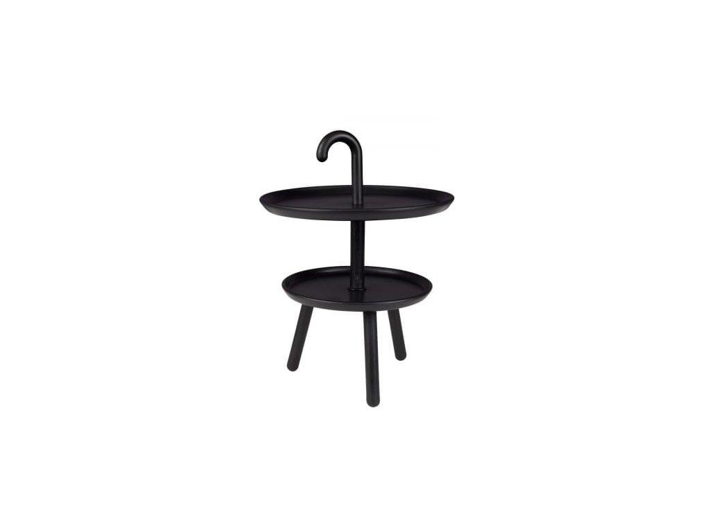 Odkládací stolek WLL Jonna, černá