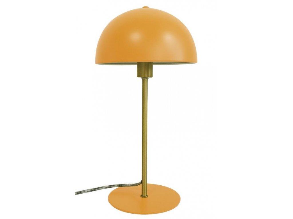 Žlutá kovová stolní lampa Lacy