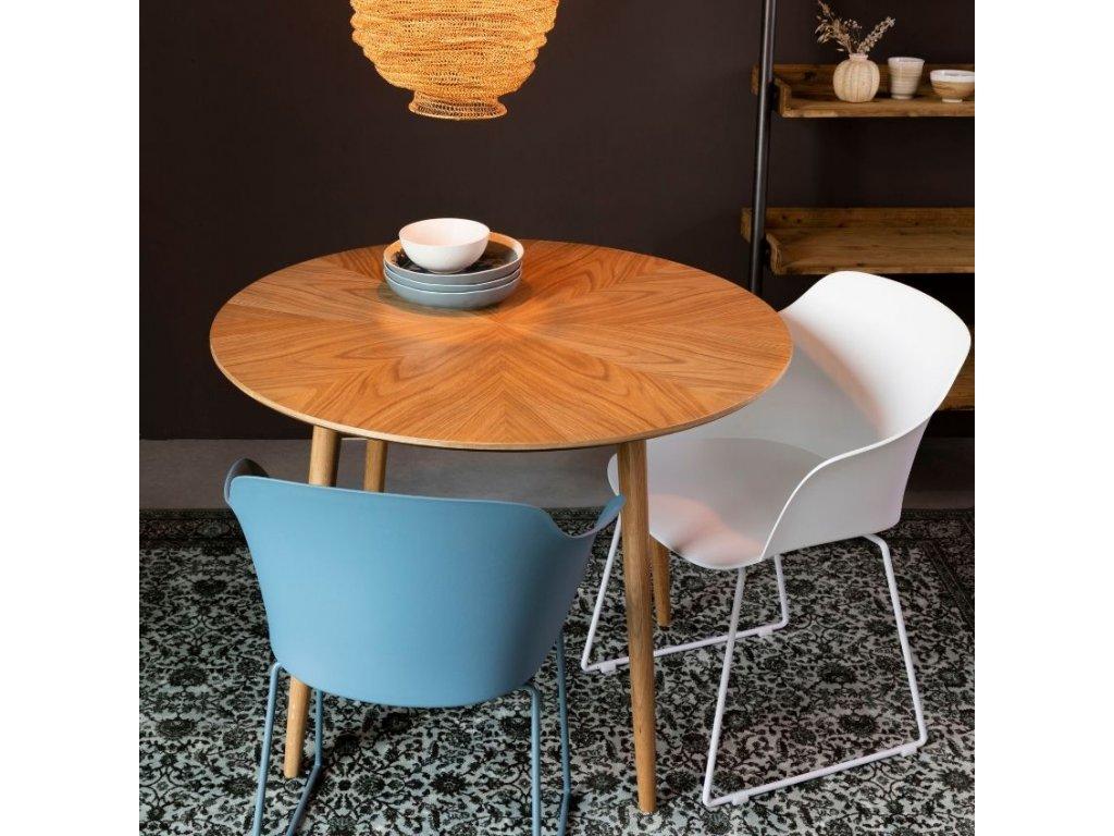 Bílá jídelní židle WLL Tamgo