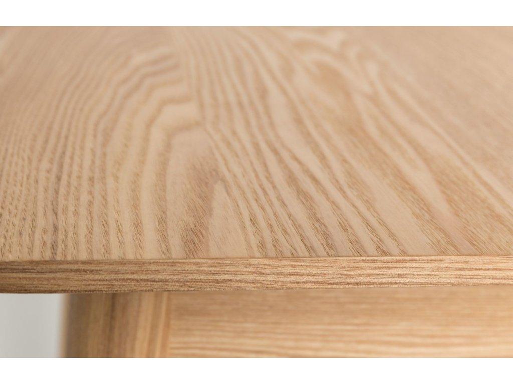 Přírodní rozkládací jídelní stůl ZUIVER GLIMPS 180/240x90 cm
