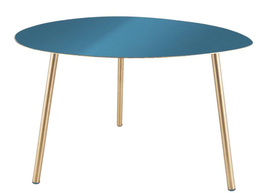 Modrý konferenční stolek Trinity