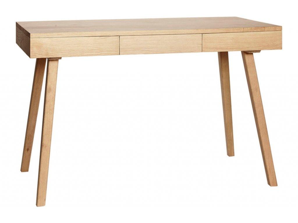 Dubový pracovní stůl Hübsch Argo 120x57 cm
