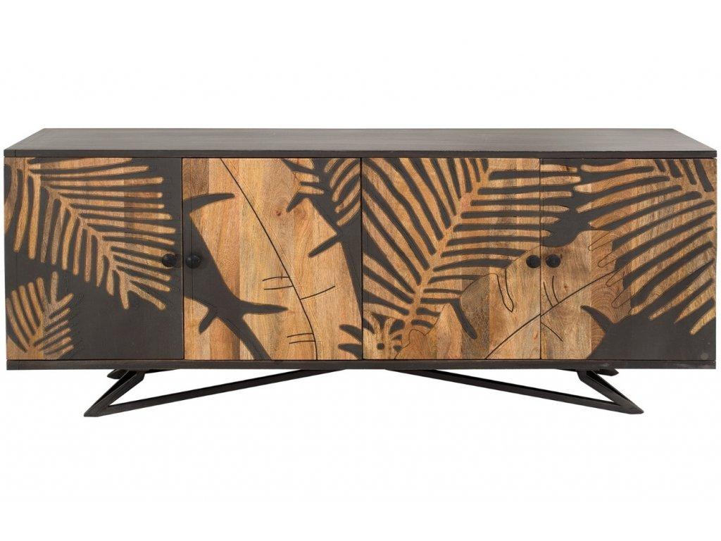 Masivní komoda Daira 175 x 45 cm