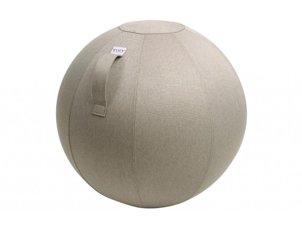 Béžový sedací / gymnastický míč  VLUV LEIV Ø 65 cm