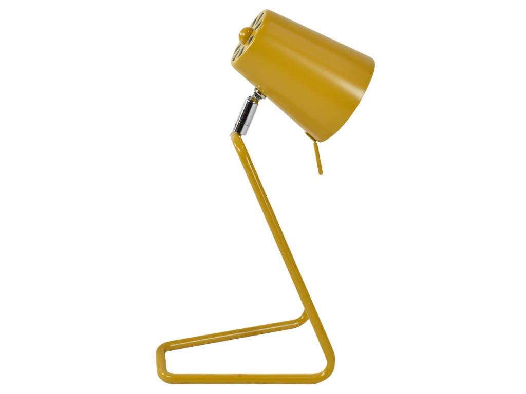 Okrově žlutá stolní lampa Treu