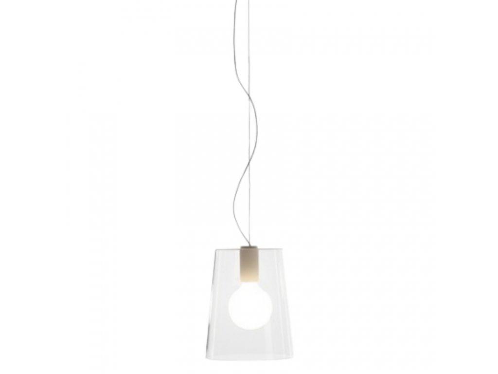 Transparentní závěsné světlo Pedrali L001S/A