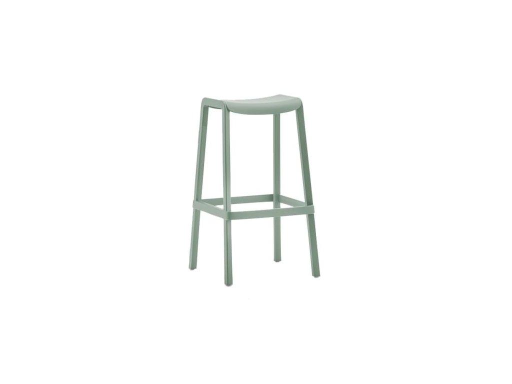 Barová židle Dome 268, zelená