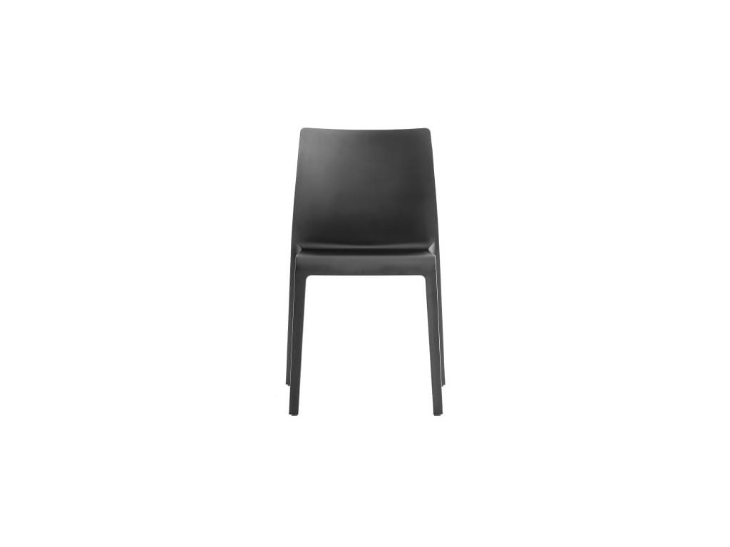 Černá plastová židle Volt HB 673