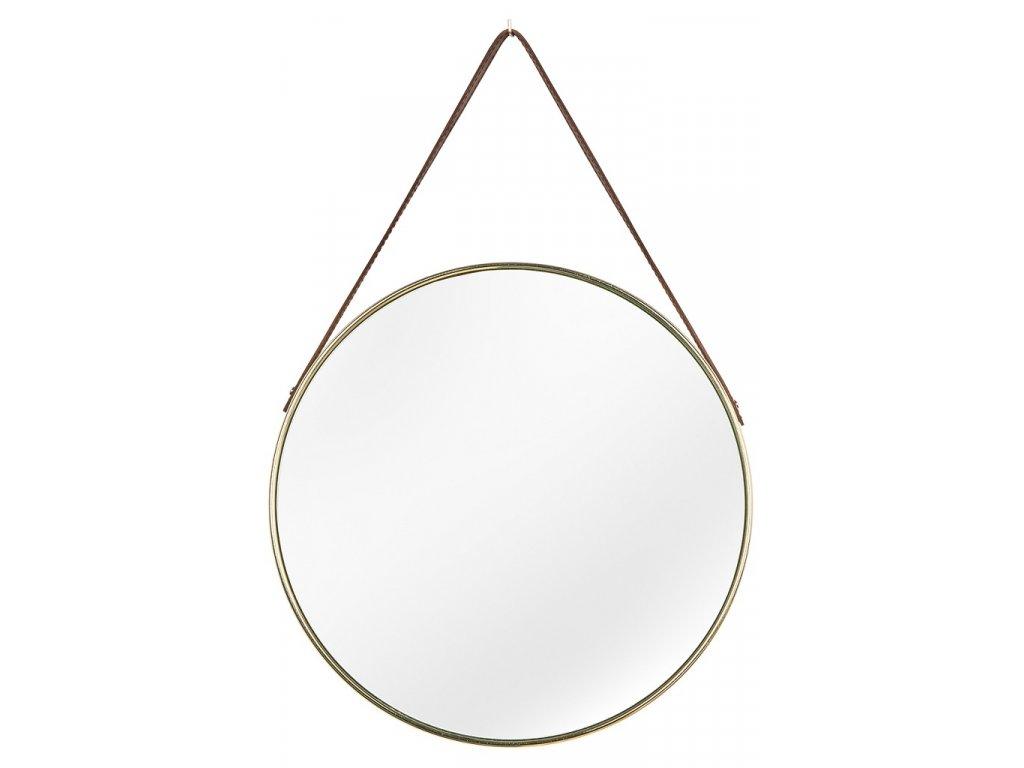 Závěsné zlaté zrcadlo Anet