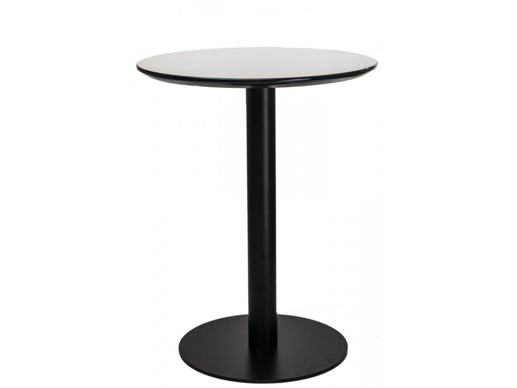 Kulatý kovový bistro stůl Izzy 60 cm