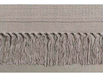 Tkaný koberec se vzorem zebry Bold Monkey Zebra Friendly 160x230 cm, černá barva