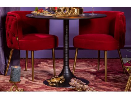 Tkaný koberec s motivem růží a třásněmi Bold Monkey Stitchy Roses 170x240 cm, růžová tmavě červená barva