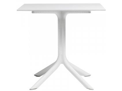 Bílý stolek Loft Coffee 80 cm
