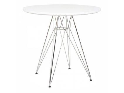 Designový jídelní stůl DSR 90 cm, bílá