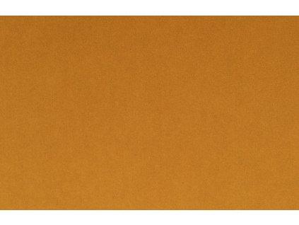 Okrově žlutá sametová pohovka Bold Monkey Don´t Love Me Love 165 cm