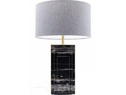 Mramorová stolní lampa Charleston 69 cm