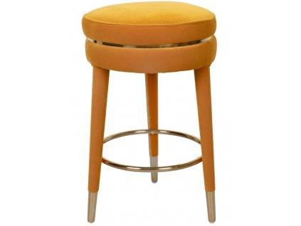Žlutá barová židle 67 cm Bold Monkey I Am Not A Macaron