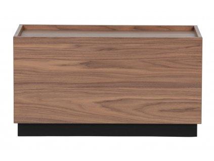 Dřevěný konferenční stolek Tyson 40 x 82 cm