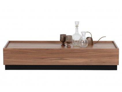Dřevěný konferenční stolek Tyson 135 x 60 cm