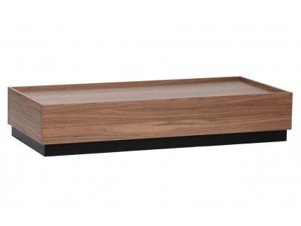 Ořechový konferenční stolek Tyson 135 x 60 cm