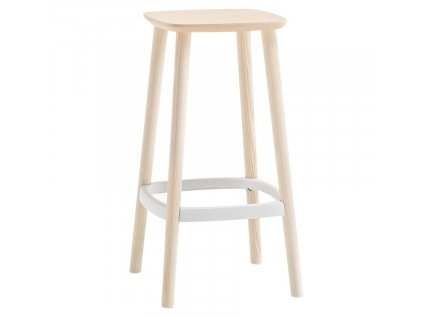 Bílá barová židle Babila 2702
