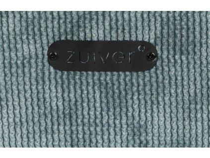 Modrošedá čalouněná židle ZUIVER Benson s područkami