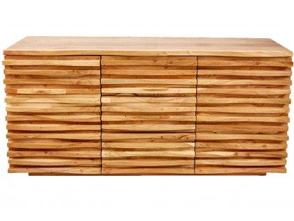 Masivní akátová komoda Matis 160 x 45 cm