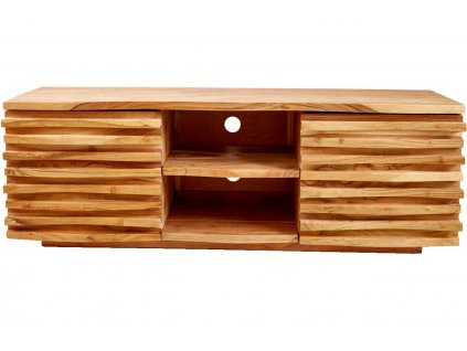 Masivní akátový TV stolek Matis 150 x 40 cm