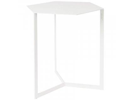Bílý kovový konferenční stolek ZUIVER Matrix