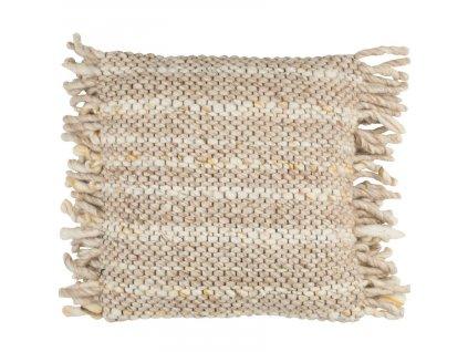 Béžový pletený polštář ZUIVER FRILLS848x848