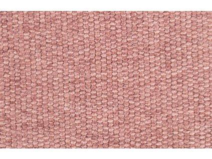Růžová látková jídelní židle ZUIVER ALBERT KUIP