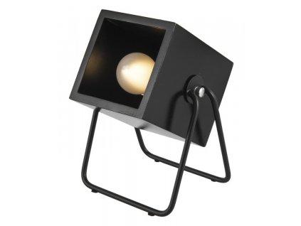 Černá stolní lampa Udyna