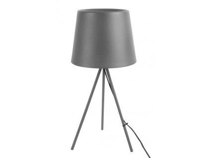 Šedá stolní lampa Vois