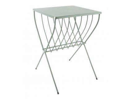 Světle zelený odkládací stolek Posion
