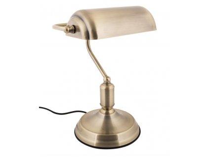 Zlatá stolní lampa Gidel