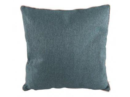 Modro šedý čtvercový polštář Blend