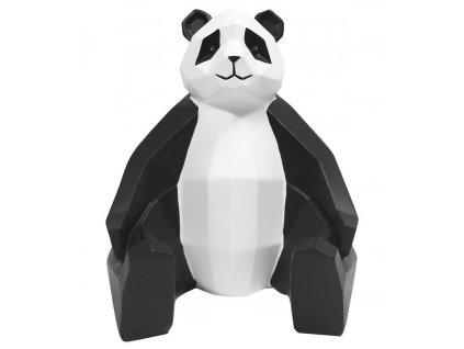 Dekorativní soška Origami ve tvaru pandy