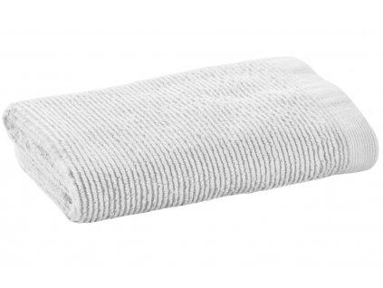 Malý bílý bavlněný ručník LaForma Miekki