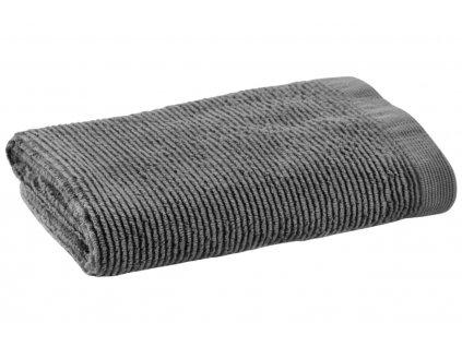 Malý antracitový bavlněný ručník LaForma Miekki
