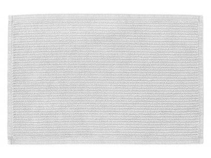 Bílá bavlněná koupelnová předložka LaForma Miekki 40 x 60 cm