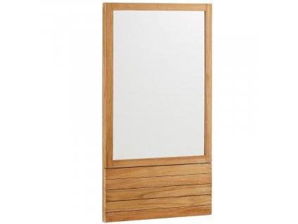 Dřevěné nástěnné zrcadlo LaForma Sunday 110 x 60 cm