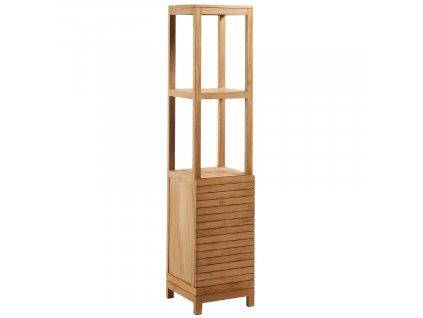 Dřevěný úzký regál LaForma Sunday 182 cm x 40 cm