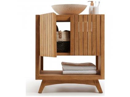 Dřevěná komoda LaForma Sunday 51 x 66 cm
