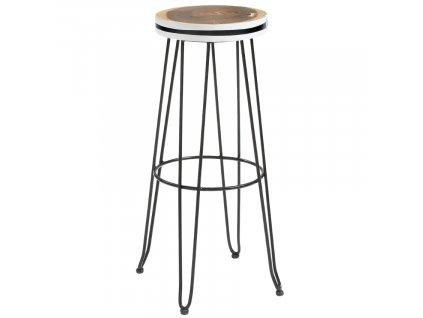Dřevěná barová židle Farley