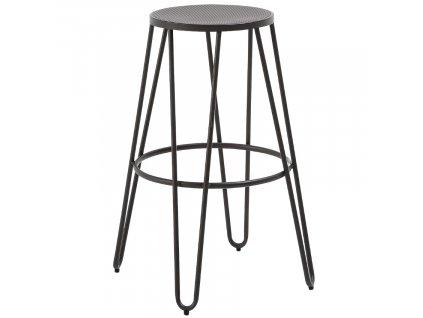 Kovová barová židle Mallone