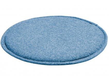 Tmavě modrý látkový podsedák LaForma Stick 35 cm